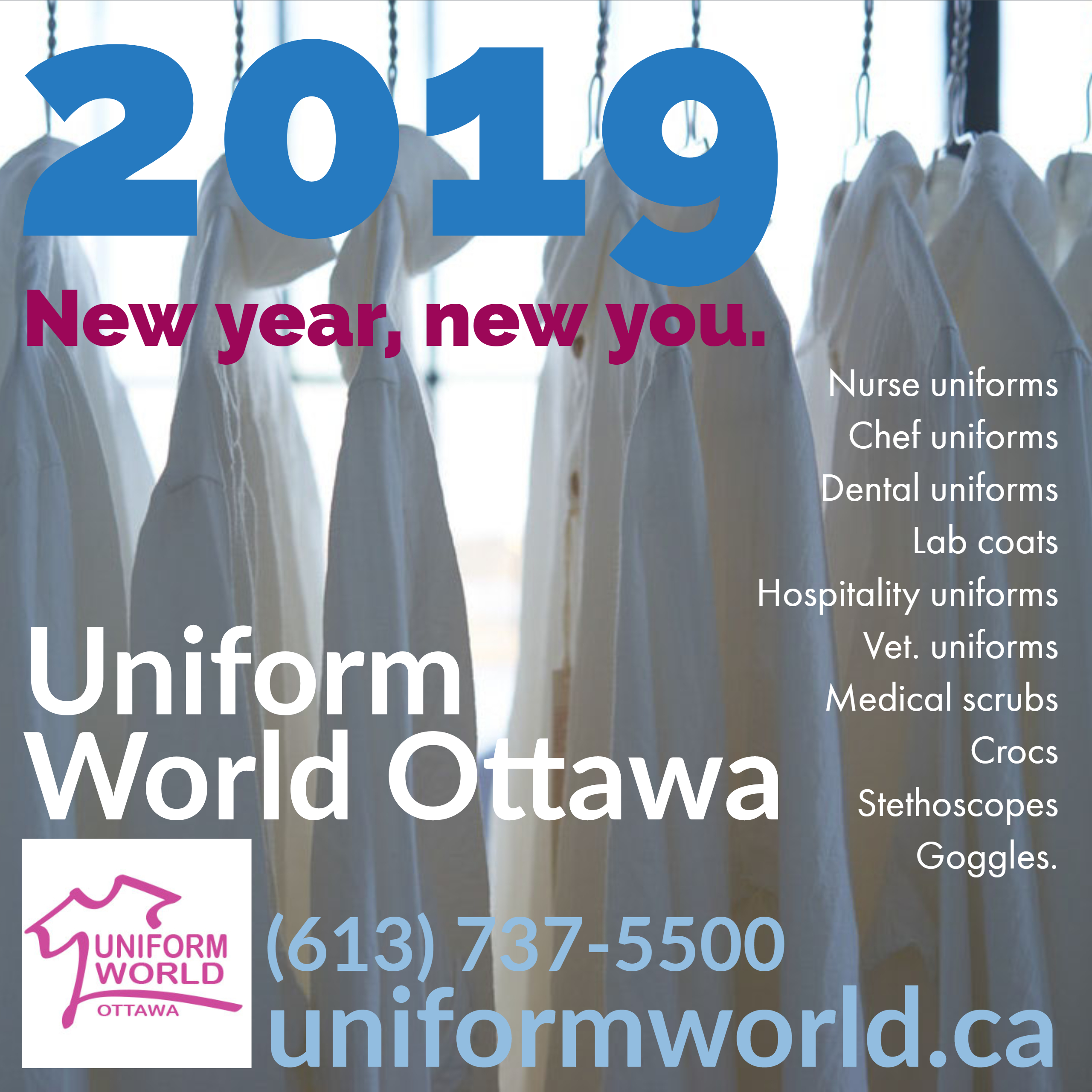 daed0eb9053 We offer you the largest inventory of scrubs & uniforms in the Ottawa  Valley! We have nursing uniforms, chef uniforms and everything in between.
